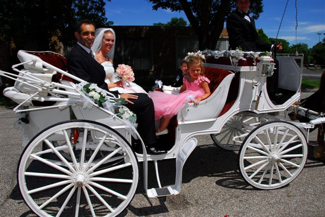 South Bend Wedding Carriages Limo Alternative In